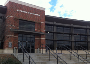 Tarleton's Recreational Sports Center is the main location for rec staff and administration. Rec sports oversees intramural events. (File Photo: Monet Gerald, Texan News Service)