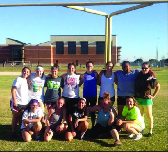 The women's lacrosse team held their first practice Oct. 14.(Photo from @TSUGirlsLAX on Twitter)