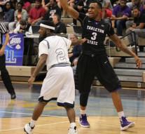 EJ Reed plays basketball for Tarleton as a senior power forward.(Photo by Ariel Steele, Texan News)