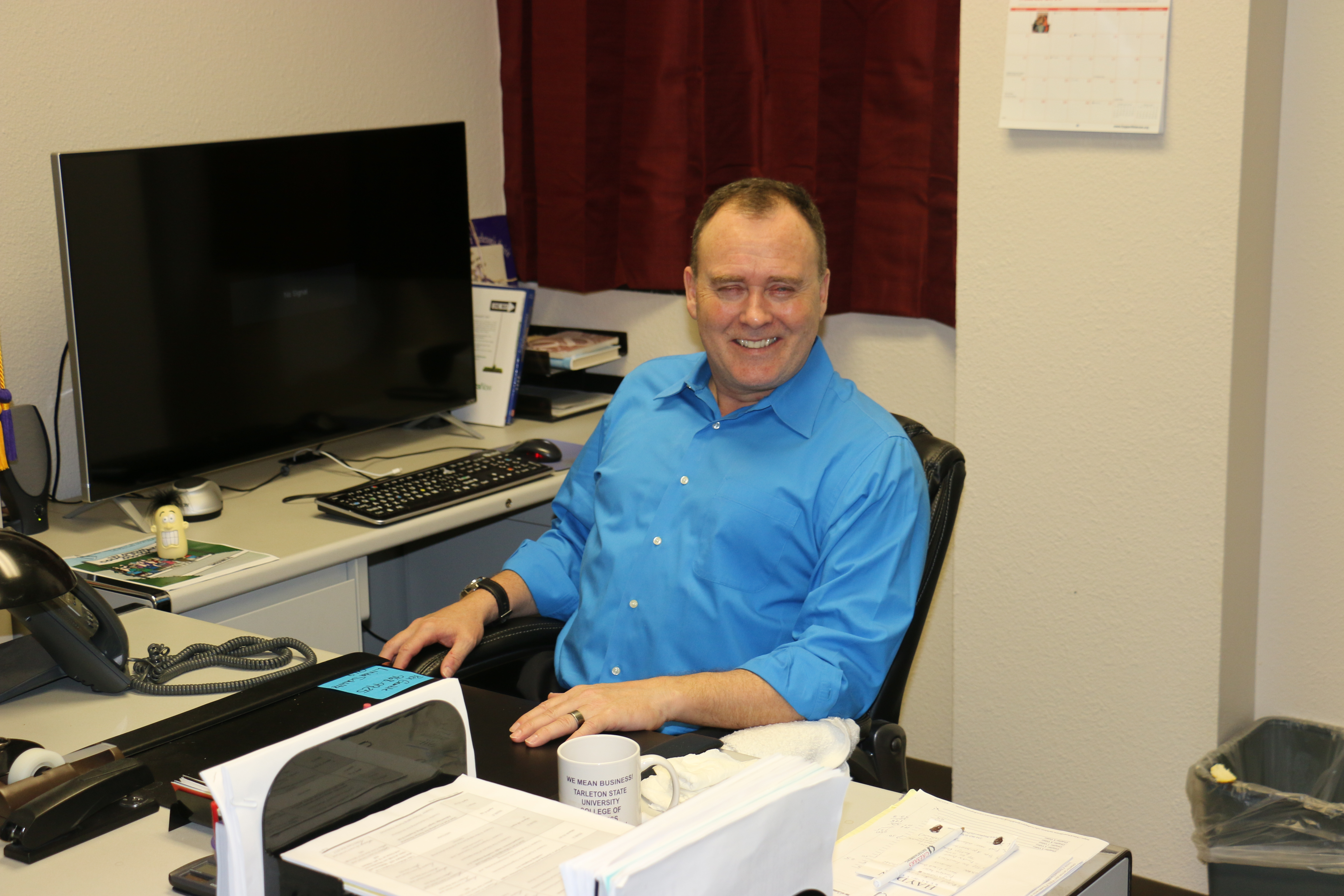 Tarleton instructor adapts to life without vision