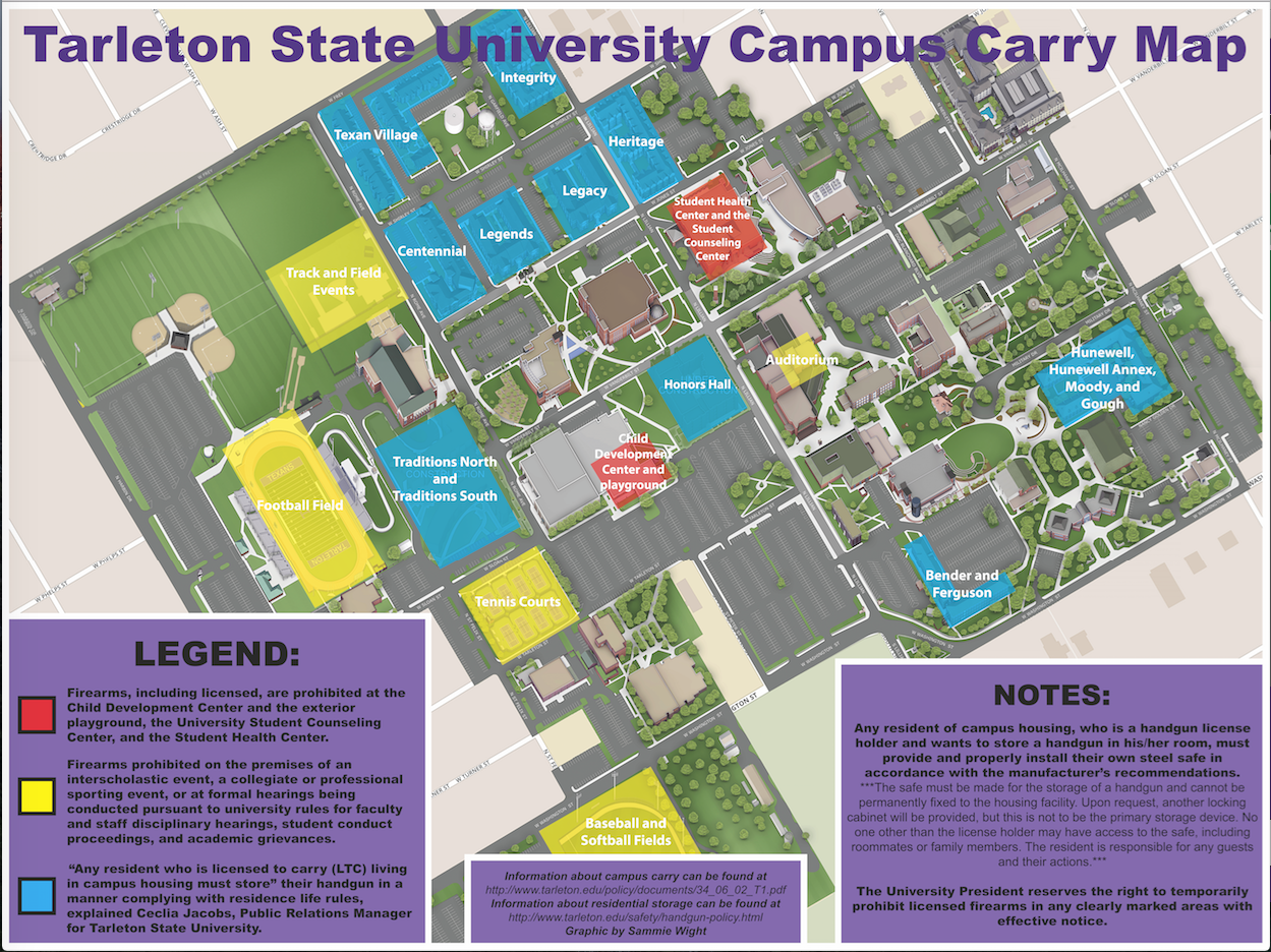 Hundreds of Tarleton students could be carrying a handgun this fall
