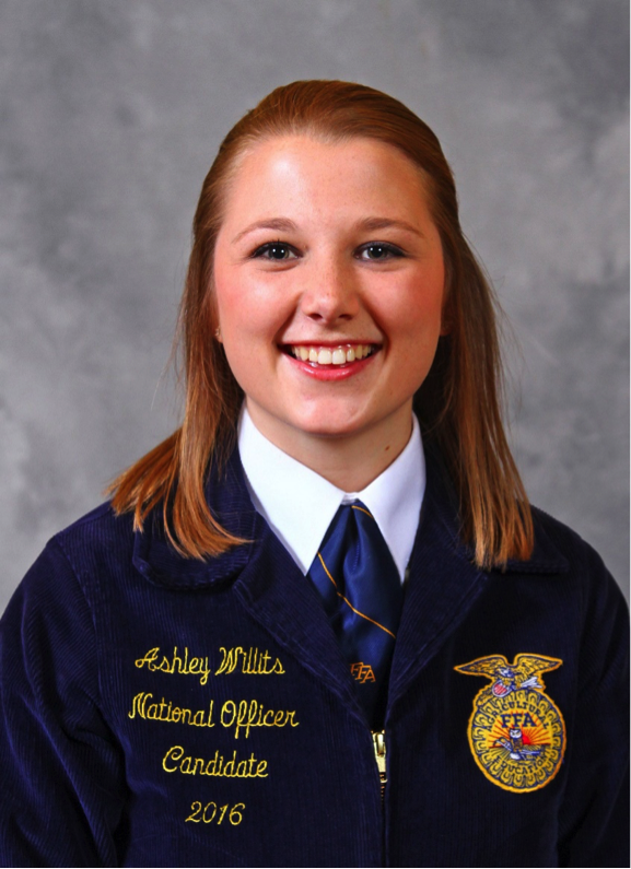 Tarleton student Ashley Willits is elected to National FFA office