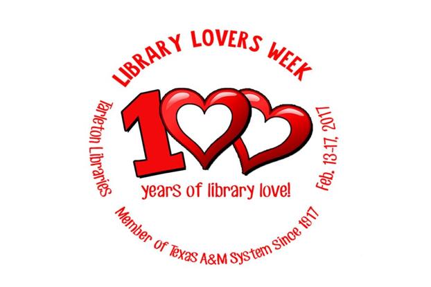 Tarleton Celebrates Library Lovers Week
