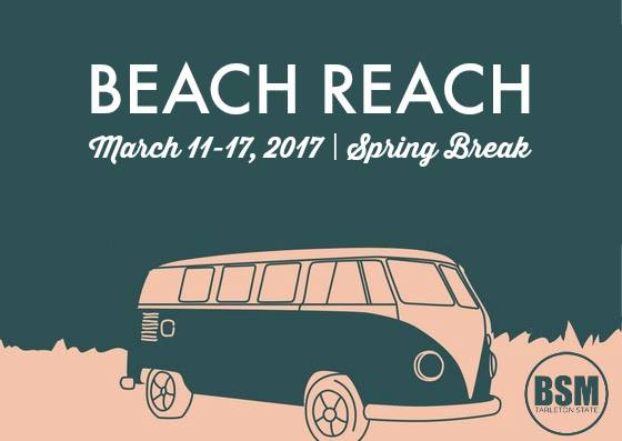 BSM students head to South Padre for spring break 'Beach Reach'