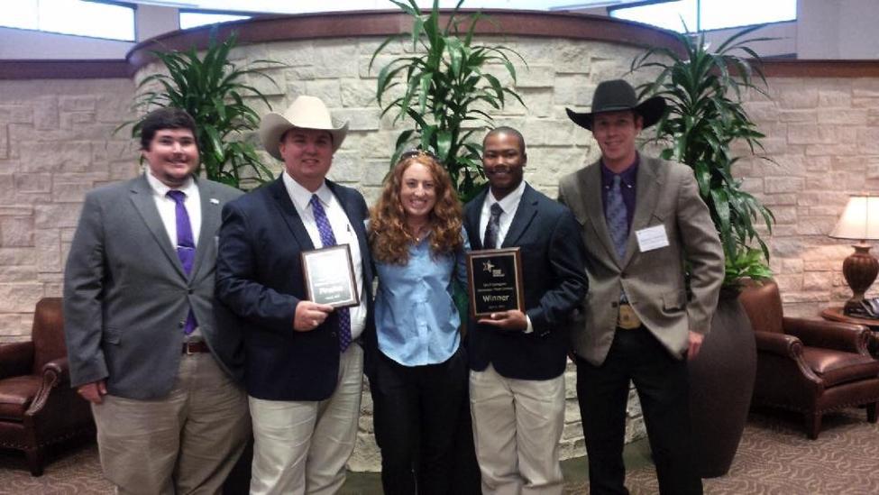 Tarleton student wins Farm Bureau Collegiate Discussion Meet